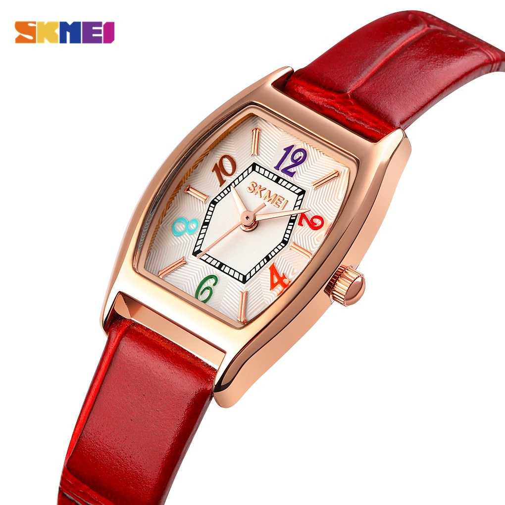 2021 SKMEI Small Size Ladies Wristwatches Casual Women Quartz Watches Top Brand Fashion Female Girl Clock Relogio Feminino 1781