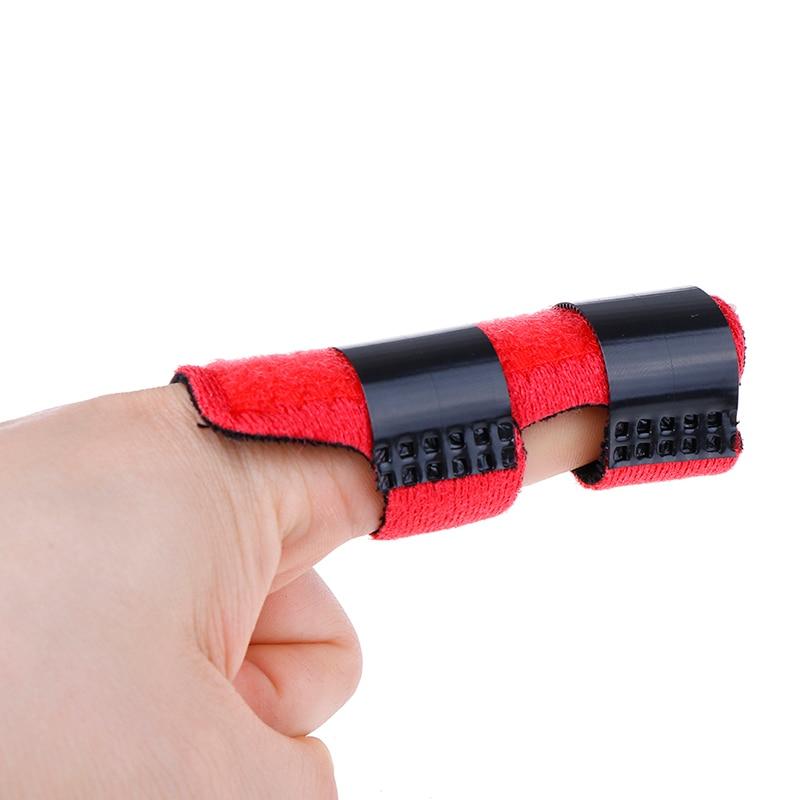 Ajustable alivio del dolor gatillo dedo fijación férula enderezamiento de la abrazadera espray dislocación de la fractura dedo férula Corrector de apoyo
