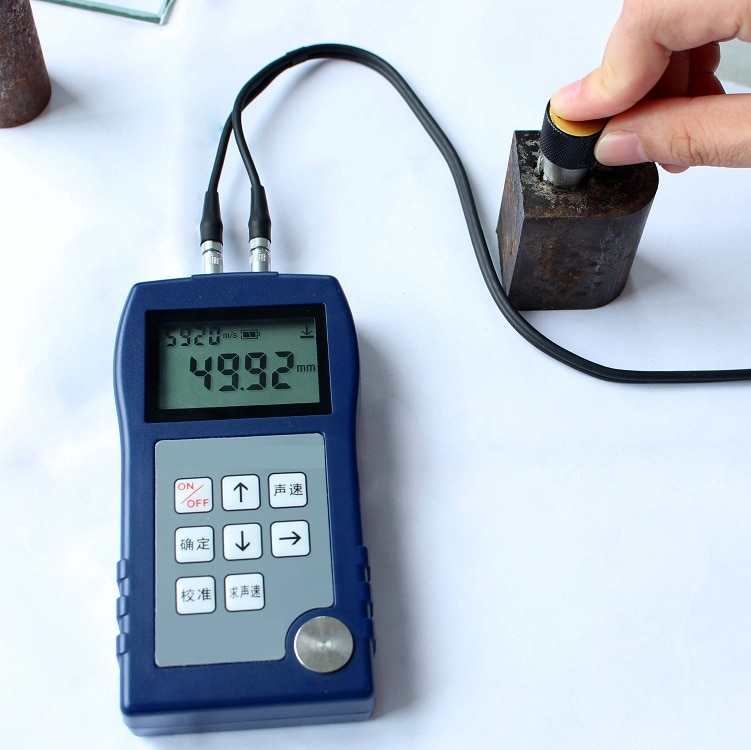 Metal thickness gauge SYT120  Ultrasonic Thickness Gage Sonigauge enlarge