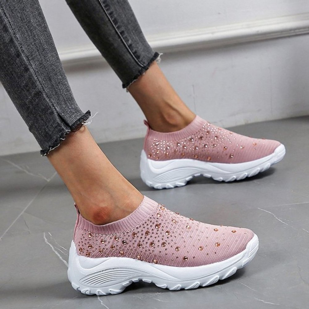 Women Summer Casual Platform Shoes 2021 Fashion Female Loafers Soft Breathable Shoes Woman Lightweight Ladies Sneakers  - buy with discount