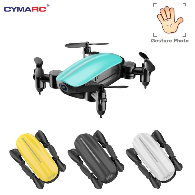 Mini Dron Teeggi T10 con cámara HD plegable WiFi FPV RC Quadcopter modo sin cabeza mantenimiento de altitud VS S9 Dron de Selfie de Micro bolsillo