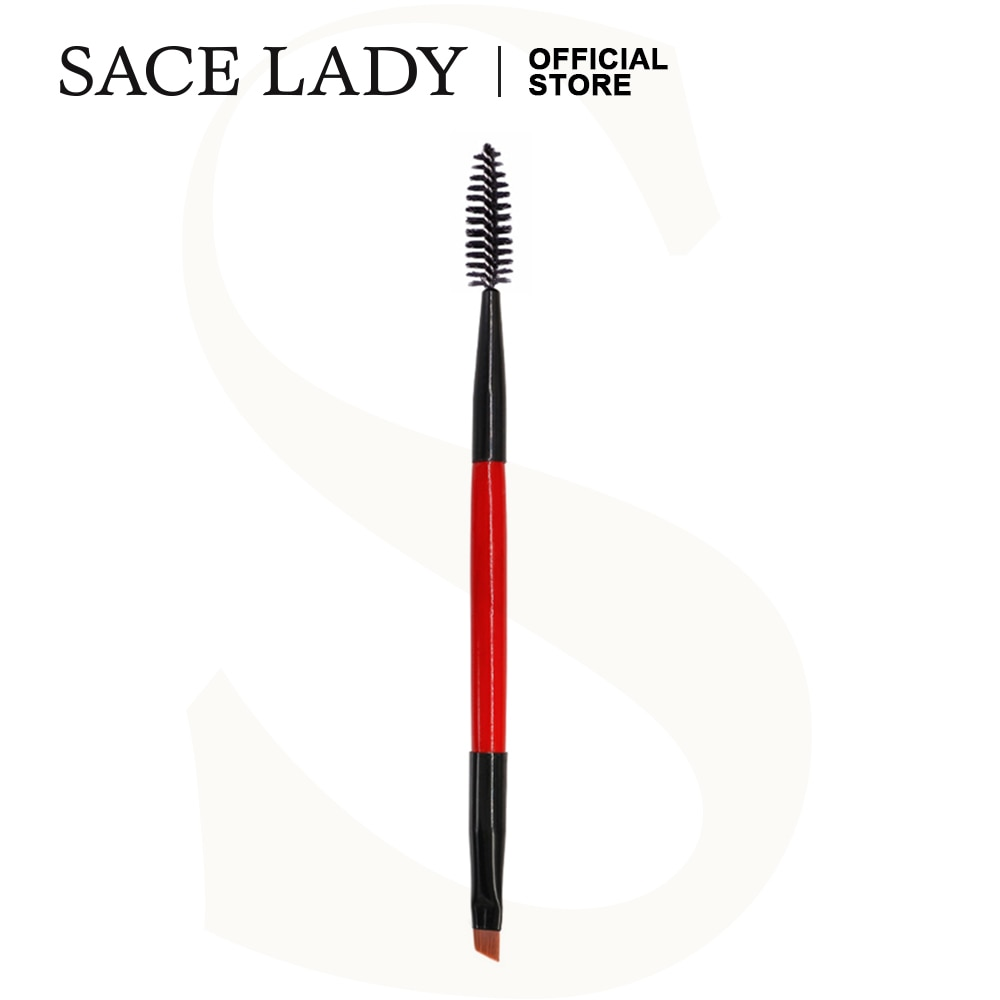 SACE LADY Eyebrow Brush Makeup Eye Brow Brushes Comb Spoolie Make Up Professional Gel Tint Eyeliner Tool Cosmetic Wholesale 1 pc professional bevel brush eyeliner eyebrow brush angled eye liner makeup brush tool cosmetics make up eyeliner brushes