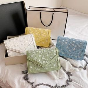 Luxury Lace Women's Messenger Bag Fashion Chain Shoulder Bag Mini Evening Dress Handbag Female Wallet