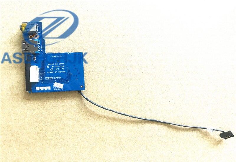 OILP2 LS-8261P BoardSD 455NZO39L01 الفقرة لينوفو S430 USB الصوت بلاكا تفعل Leitor 100% اختبار موافق
