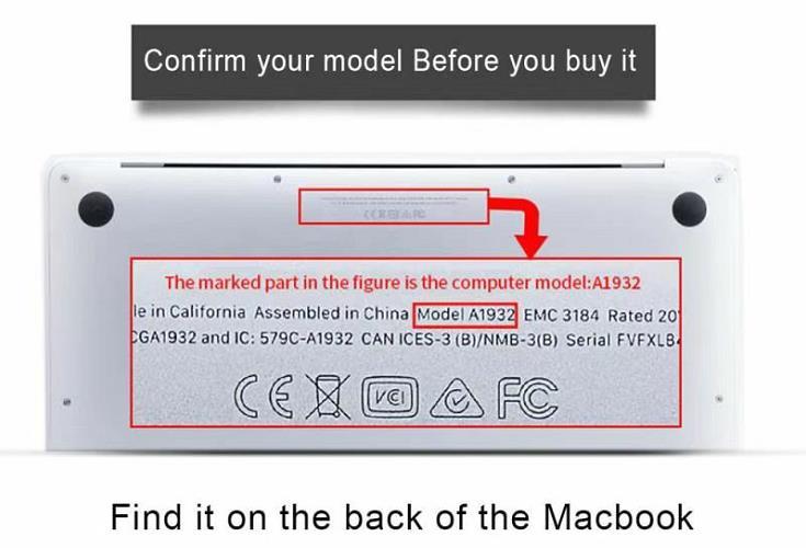 For Apple Macbook Air 13 A2337 Pro 13 A2338 (M1) 2020 /MacBook Air Pro 15 11 13 A2179 /Macbook 12
