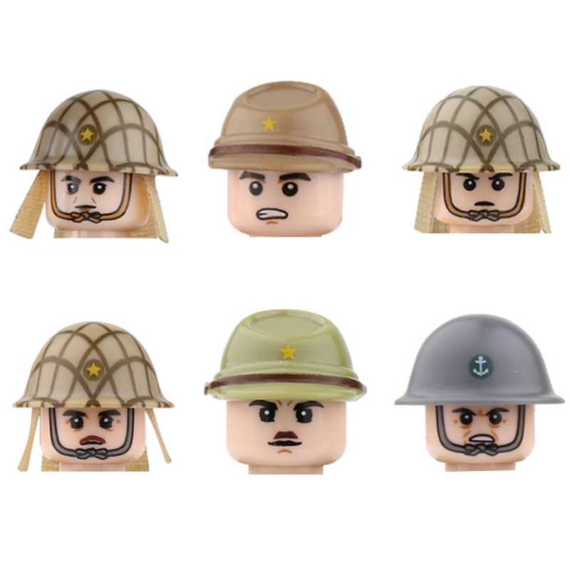 2017 new kazi 4pcs building blocks wolf tooth field team militray army weapons compatible with legoe solider bricks toys NEW WW2 Japanese Army In Southeast Asia Building Blocks Military Soldiers Figures Infantry Weapons Guns Parts Mini Bricks Toys