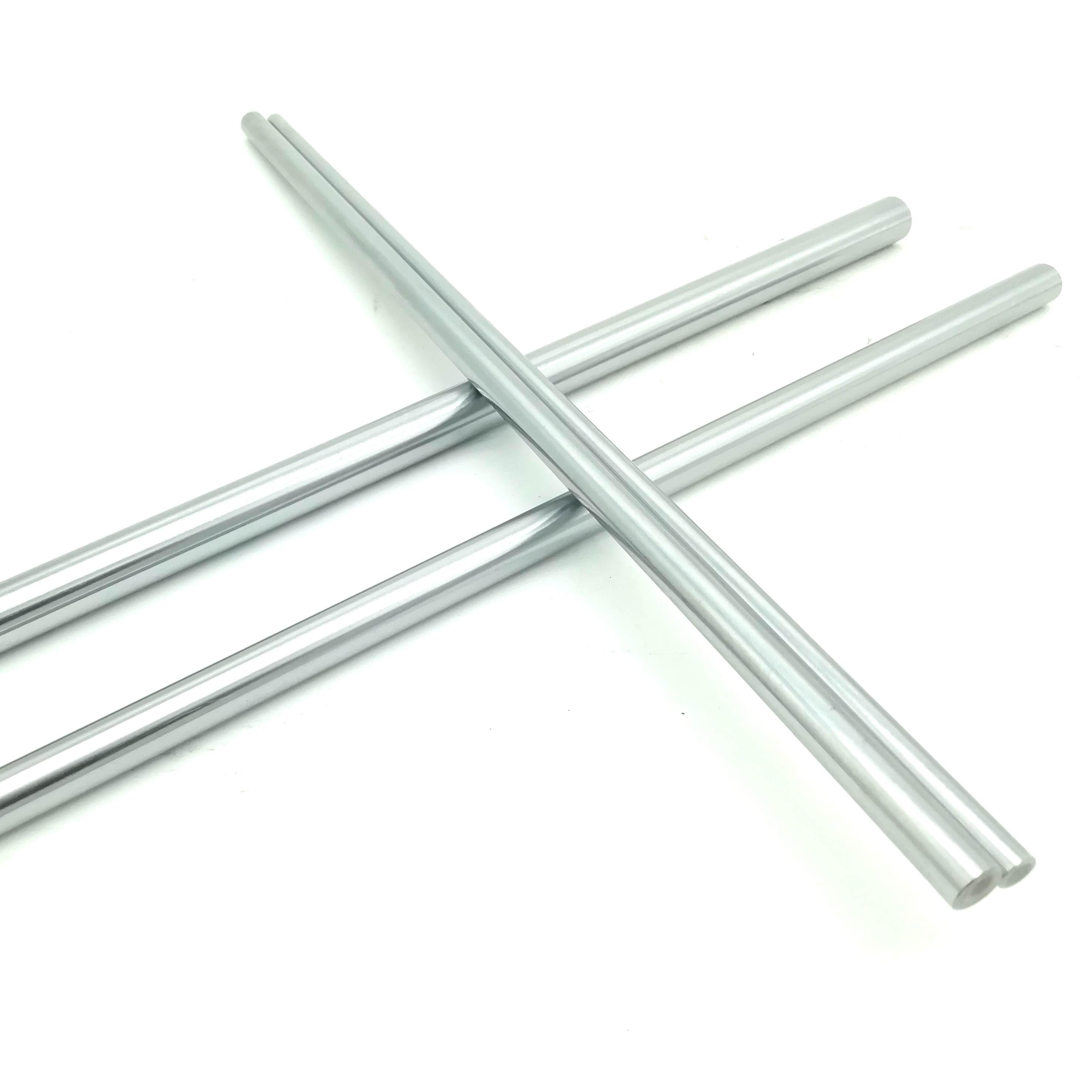 Hardened Steel Linear Shaft or Smooth Rod 8mm Diameter 200-500mm Length