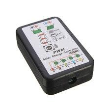 6V12V String Lights PWM Portable Electrical Battery Regulator 3A Solar Controller Intelligent Power Panel Switch Courtyard