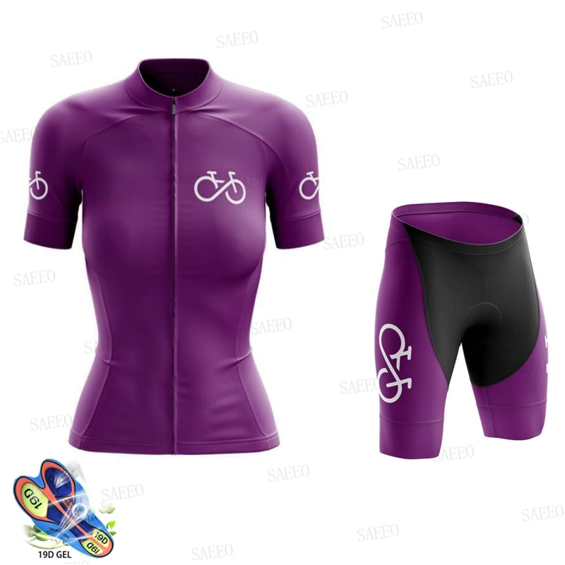 Ropa de mujer 2021 Pro equipo Ciclismo jersey de verano de manga...