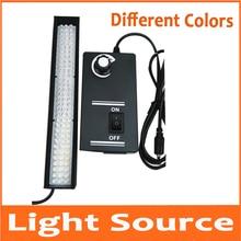 96pcs F5 LED אור מיקרוסקופ מכונת ראיית אור מקור מתכוונן בדיקה ויזואלית ביולוגי סטריאו מיקרוסקופ טבעת מנורה