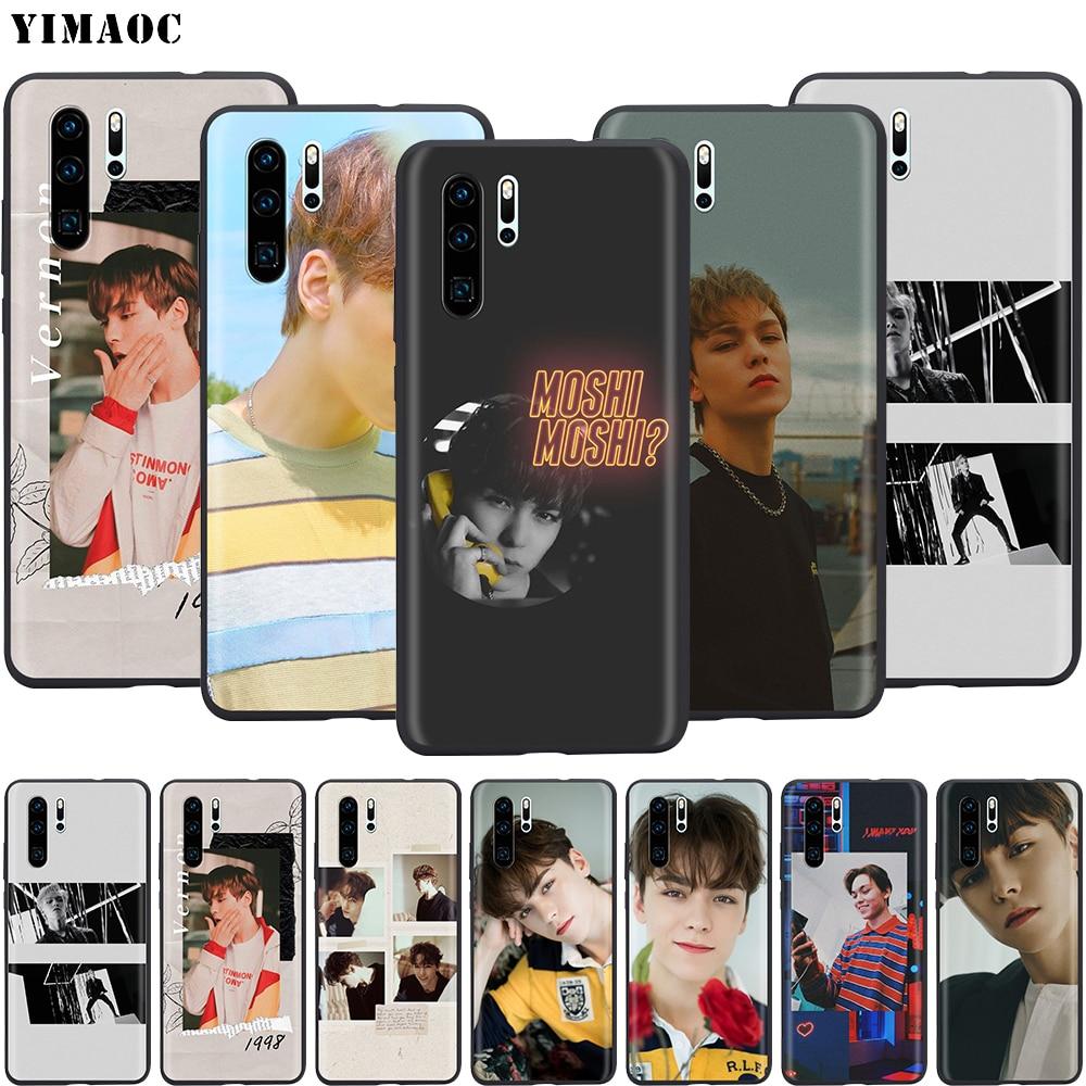 YIMAOC Vernon Weichen Fall für Huawei Ehre Nova 6 7 9A 10X Y6P P40 V30 SE Pro Max 4G 5G Abdeckung