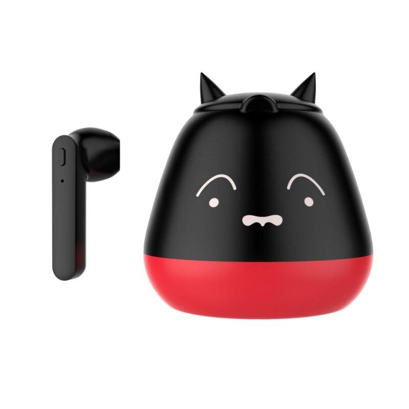 Auriculares inalámbricos con forma de dibujos animados y manos libres Bluetooth V5.0 con micrófono para conducción de oficina