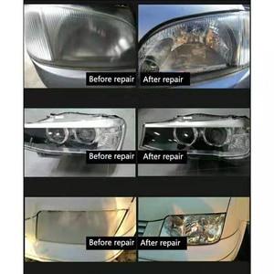 Image 5 - Набор для полировки автомобильных фар, восстановления стекла от царапин, 800 г, полировка, гидрофобные царапины, уход за автомобилем