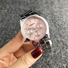 Fossil- Quartz Wrist Dress Women Watches Silver Bracelet Ladies Watch Stainless Steel Clock Casual W