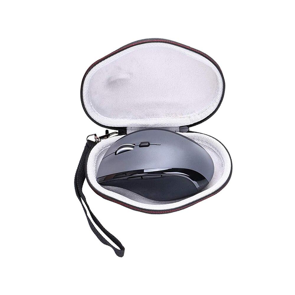 Duro para Logitech Multi-dispositivo sem Fio Bolsa de Transporte Case Triathalon Mouse Viagem Protetora Eva M720