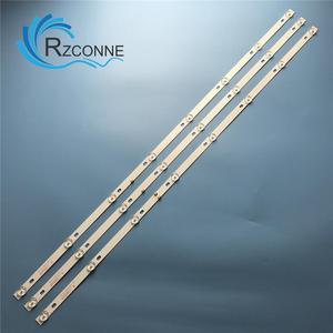 LED Backlight strip 8 lamp for JS-D-JP43DM-A81EC B82EC (80227) E43DM1000 MCPCB 43LEM-1043/FTS2C 43LEX-5058/FT2C