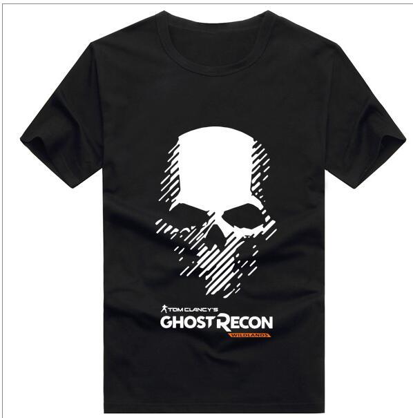 Nuevo juego de Tom Clancys Ghost Recon camiseta Wildlands cosplay para hombre, camiseta de manga corta de algodón de verano, S-3XL, Envío Gratis, 2019