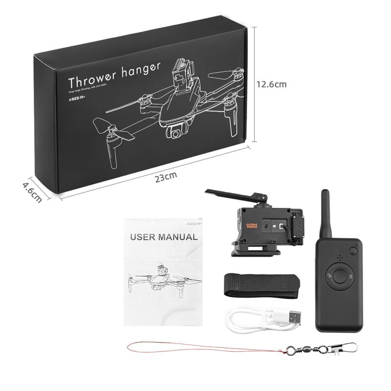 Lançador para Dji Isca de Pesca Sistema de Queda de ar Mavic Mini Fimi x8 se Fantasma 3 4 Entrega Parabólica Drone 2 Pro ar
