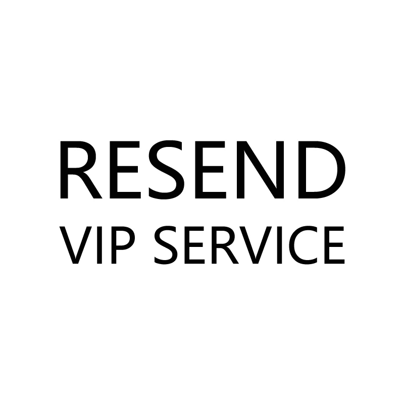 HOOBAN Resend VIP Service Additional Shipping Cost Not Product Link