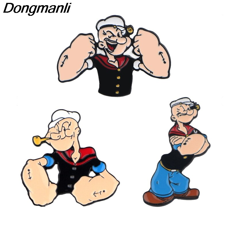 P3931 Dongmanli joyas de Anime Sailor Metal esmaltado Pins y broches para solapa Pin mochila bolsos insignia Regalos divertidos