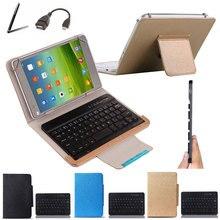 Draadloze Bluetooth Keyboard Case Voor Xiaomi Mi Pad 4 Plus 10.1 Inch Tablet Toetsenbord Taal Layout Aanpassen