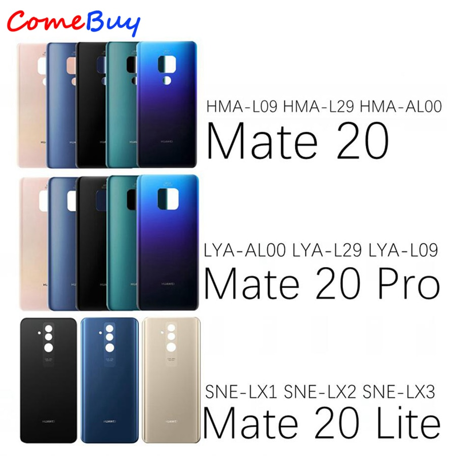 Back Cover For Huawei Mate 20 Pro Back Battery Cover Mate20 Rear Door Housing Panel Case For Huawei