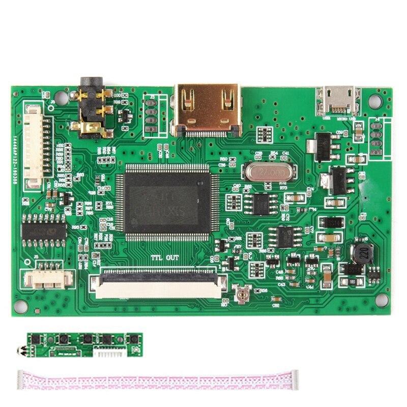 Placa controladora AT070TN92, controlador LCD Sn HDMI para Innolux AT070TN90 AT090TN10 AT070TN93 AT080TN52, micro-usb de 50 pines