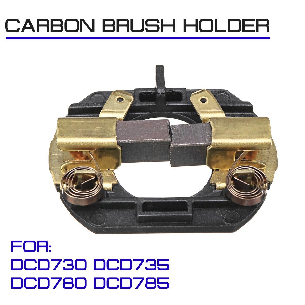 Con cepillos soporte de cepillo de carbono Taladro Inalámbrico para DeWalt Taladro Inalámbrico DCD730 DCD735 DCD780 DCD785
