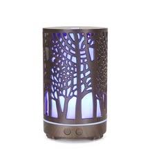 Free shipping 200ml cutout branch woodgrain aroma diffuser ultrasonic air humidifier