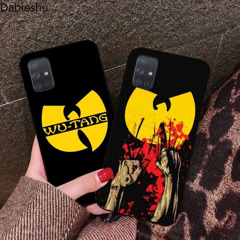 Dabieshu Hip hop Wu Tang Clan klienta etui na telefon do Samsung Galaxy A21S A01 A11 A31 A81 A10 A20E A30 A40 A50 A70 A80 A71 A51