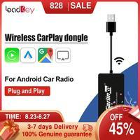 Беспроводной смарт-ключ для Apple CarPlay, Android, автомобильный радиоприемник, мини-USB