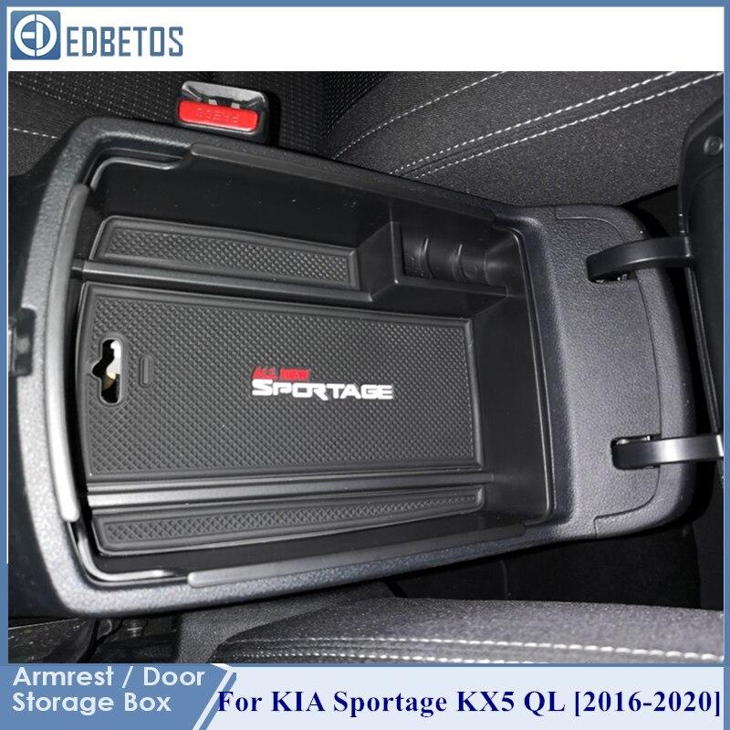Подлокотник коробка для хранения Kia Sportage KX5 QL на LHD 2016 2017 - 2020 центральная консоль Organzier укладка Tidying держатель для хранения лоток