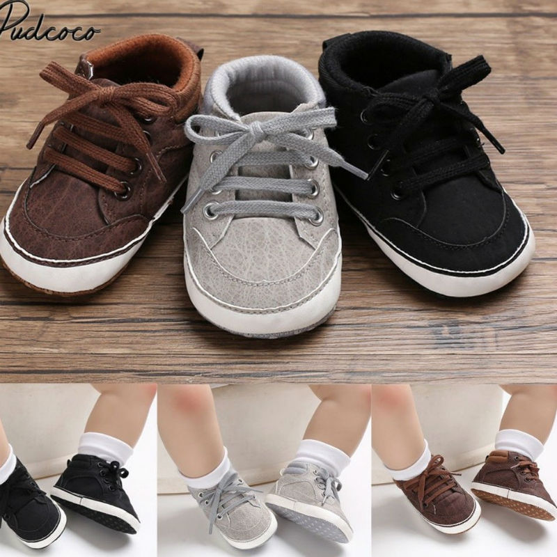 2020 Brand New Infant Baby Girl Shoes Newborn Soft Sole Sneaker Cotton Crib Shoes Sport Casual Warm
