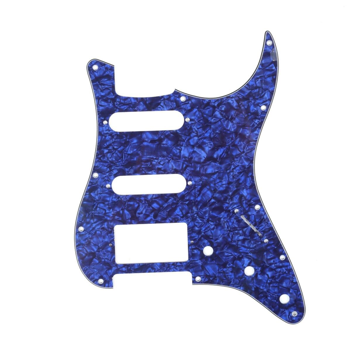 Musiclily HSS golpeador de guitarra de 11 agujeros Strat para Fender USA/mexicana...