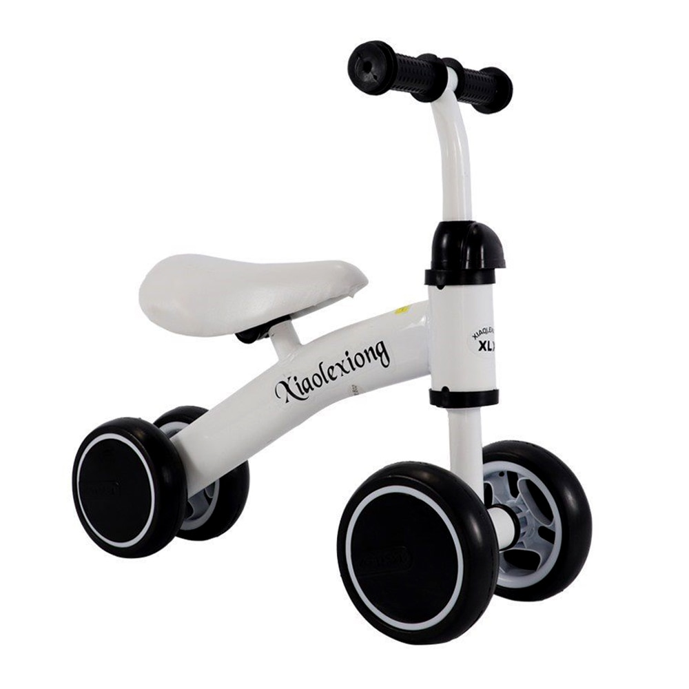 Children's Bicycle Balance Bike Walker Kids Ride On Toys Gift for 1-3 Years Old Children for Learning Walk Scooter 4 Wheels infant shining two wheels balance bike 4 6 years old children walker 12 inch riding bicycle height adjustable kids scooter