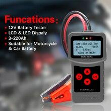 Lancol Mciro200Pro для тестера аккумулятора 12 В, диагностические инструменты для автомобиля с цифровым автомобильным анализатором, тестер, инструмент для тестирования автомобиля