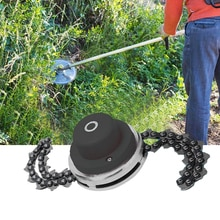 Sharp Durable Lawn Mower Chain Saw Tooth Brush Cutter Grass Head Chains Blade For Trimmer Garden Law