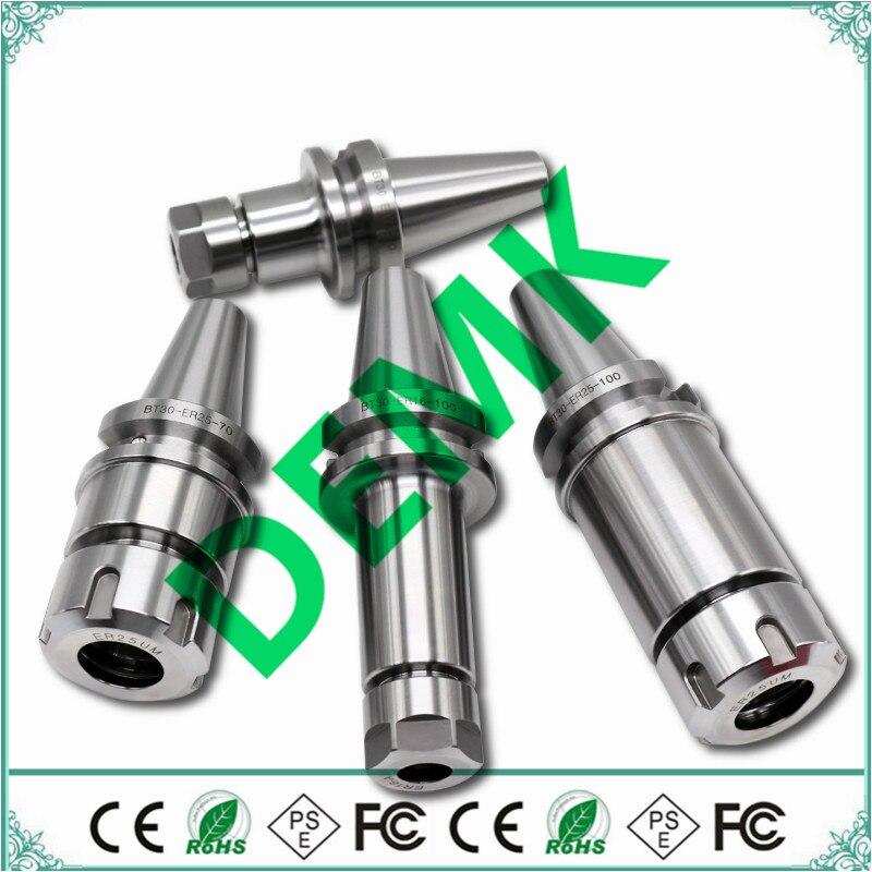 BT30-ER32 60L BT30 ER32 100L BT30 ER25 ER20 ER16 60L 100L BT30 ER25 ER20 ER16 Fresadora CNC de Alta precisão do eixo