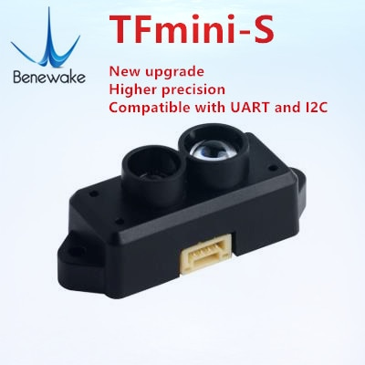 Expedição de china e rússia armazém tfmini-s lidar range finder sensor módulo 0.1-12m variando para pixhawk drone uart & iic