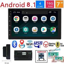 Auto 2 Din Radio Bluetooth Mp5 Player Universal Auto Stereo GPS Navigation Integriert Maschine für Android 10,1