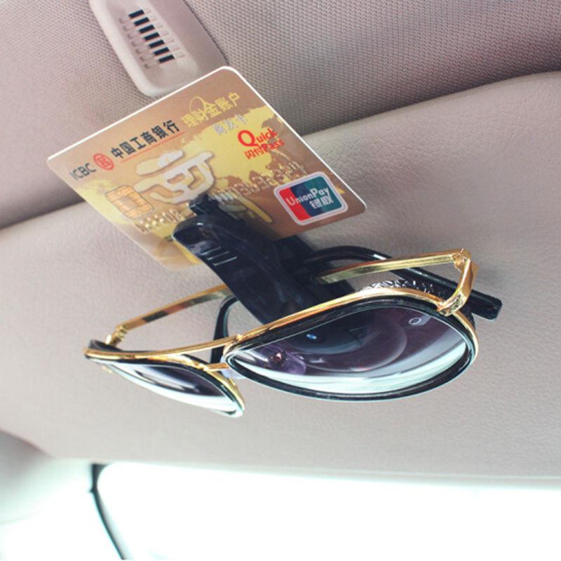 Auto visera gafas de sol Clip para suzuki swift opel mokka w210 opel zafira kia optima skoda Superb 2 bmw x3