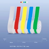 niimbot d11 label printer p type label paper cable printing sticker for communication machine room network cable thermal labels