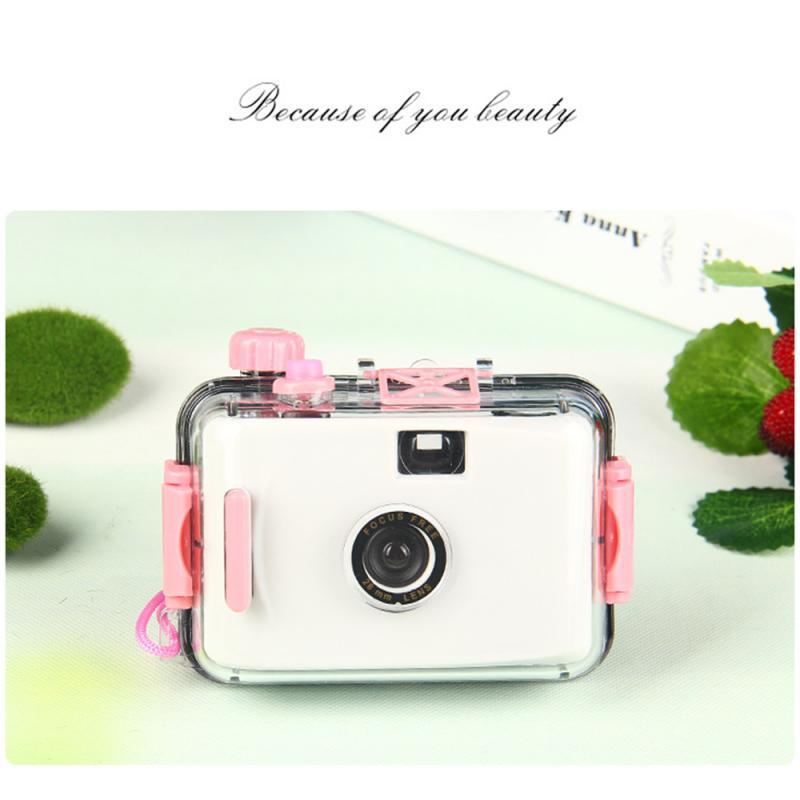Детская камера, неодноразовая камера, пленочная камера Lomo, водонепроницаемая ударопрочная камера, забавный подарок для детей