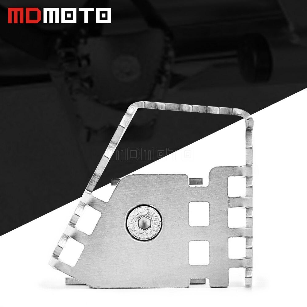 Motorfiets Achter Voet Remhendel Peg Pad Extension Vergroten Extender Voor Bmw F800GS F700GS F650GS R1150GS R1200GS R 1150/1200 Gs