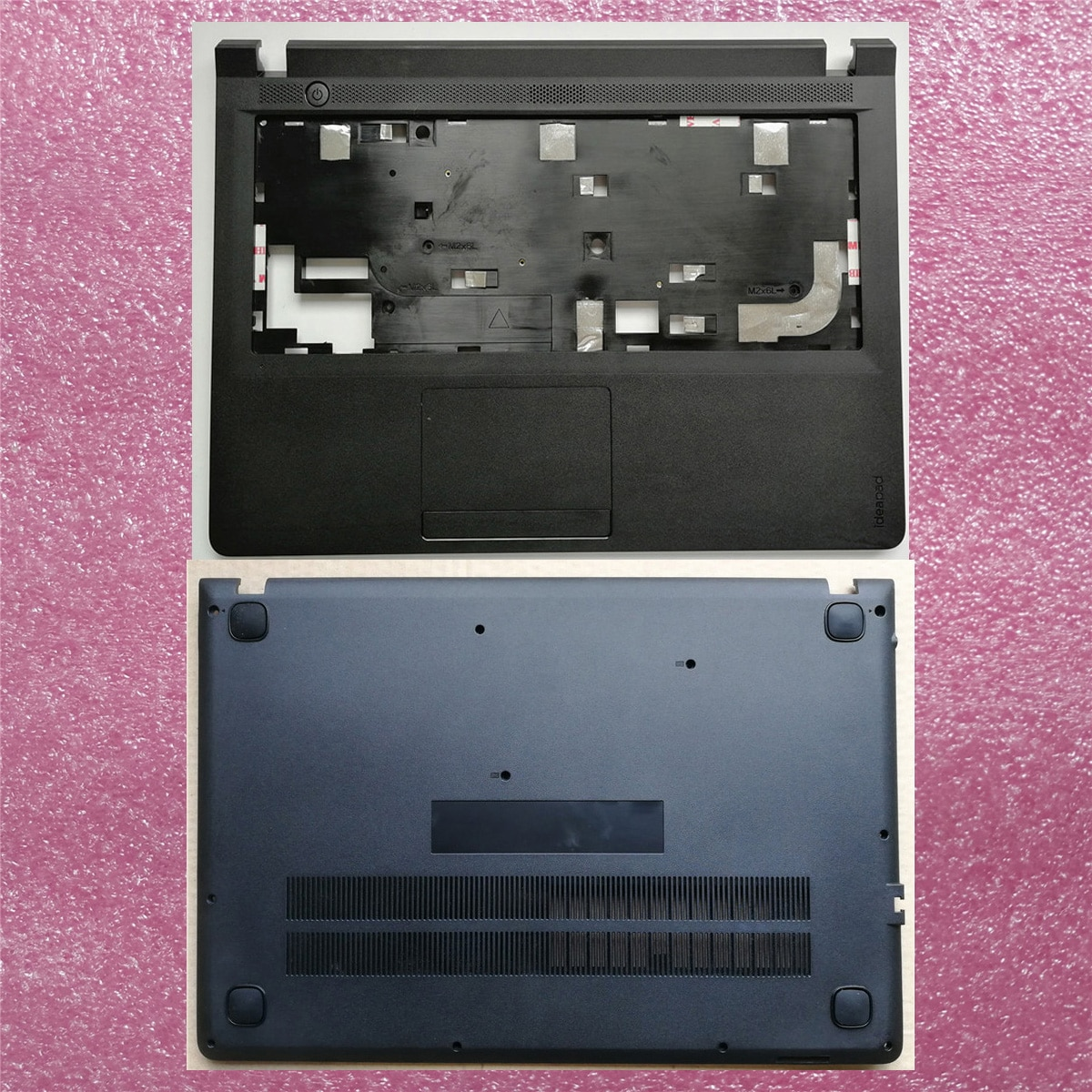 New case cover for Lenovo ideapad 100-14 100-14IBY Palmrest Cover Upper+ Bottom Base Cover 100% new lenovo g570 g575 bottom case cover