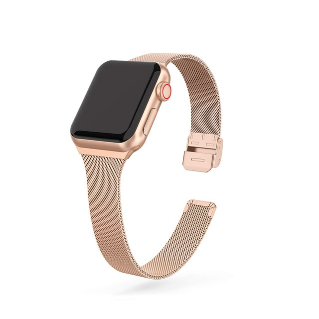 women strap for apple watch 6 band 38mm 42mm iwatch band serice 5 4 3 stainless steel strap for apple watch strap 44mm 40mm 2 1 strap For Apple Watch band 44mm 40mm Stainless steel metal bracelet correa for Apple watch 6 5 4 3 SE for iWatch band 42mm 38mm