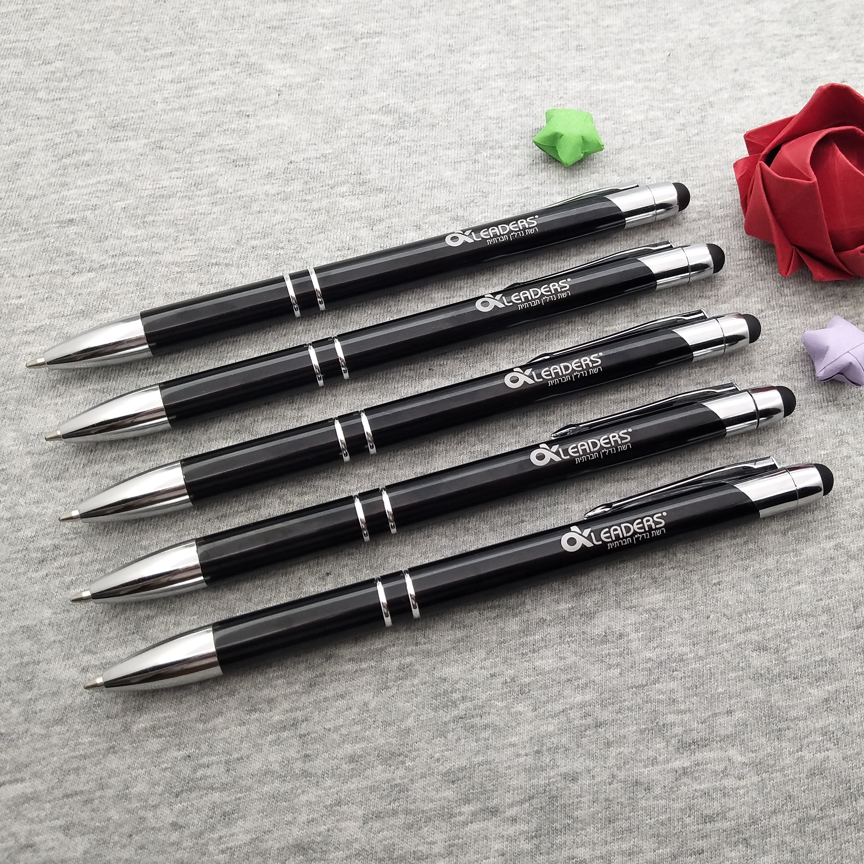Free Shipping 1000Pc metal Ballpen Pen Touch Pen for company gifts can laser engraving company text/logo/design/website