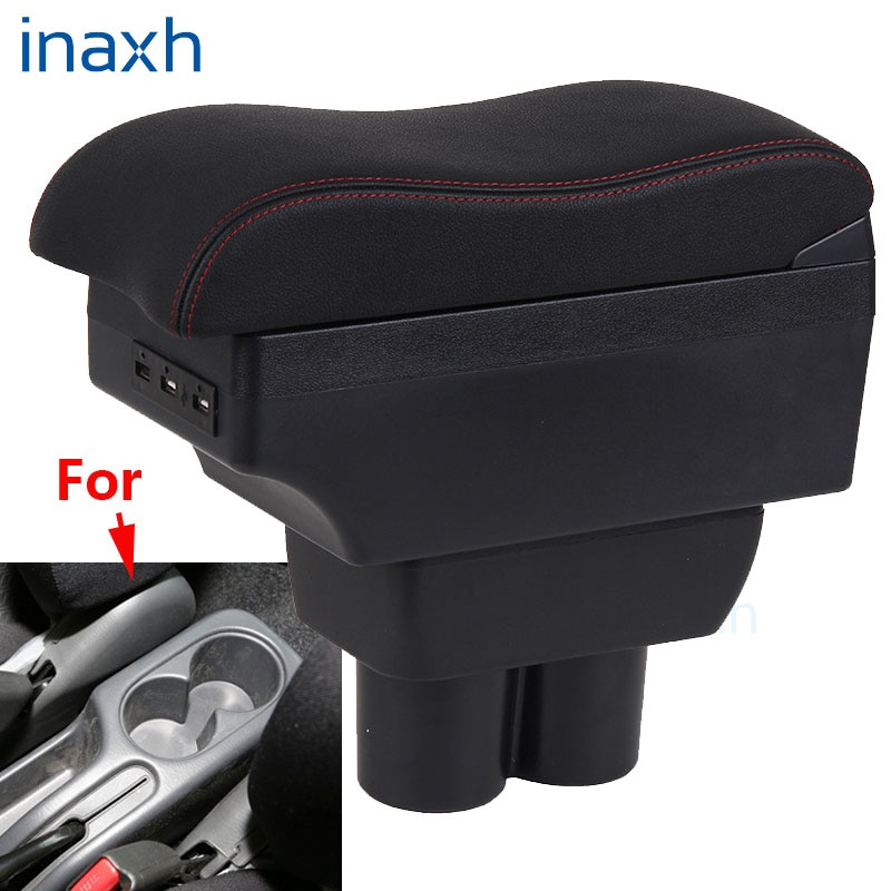 For Suzuki Jimny Armrest box Interior Parts special Retrofit parts Car Armrest Center Storage box USB 2007-2015 for suzuki swift armrest box 2005 2019 car armrest car accessories interior storage box retrofit parts usb 2011 2014 2017 2018