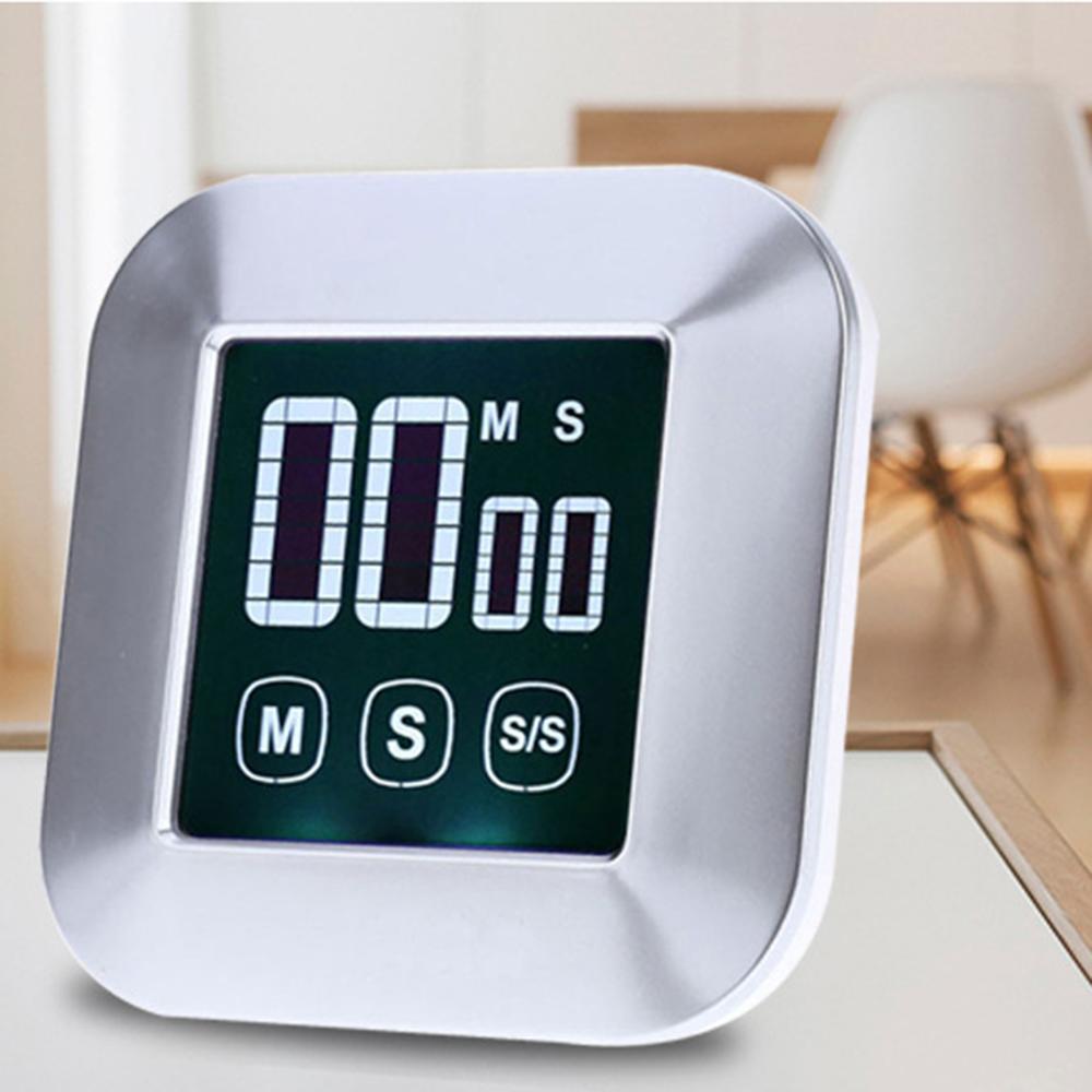 1 шт. большой светодиодный сенсорный таймер для выпекания электронный кухонный креативный цифровой таймер для дома кухонный инструмент