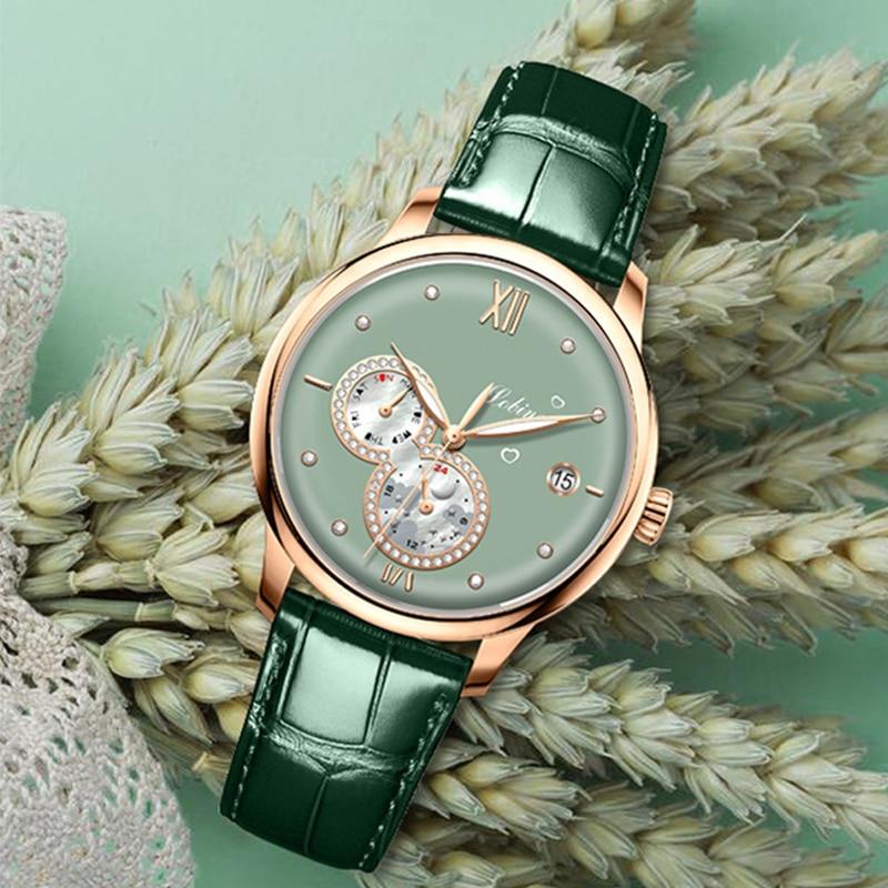 Lobinni 2021 Luxury Women Watches Top Brand  Automatic Mechanical Watch Waterproof Ladies Bracelet Wristwatch Female Clock enlarge